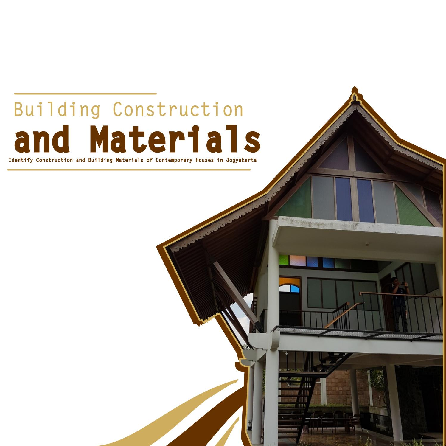 Potongan Rumah Joglo Building Construction And Materials By Muhammad Faiq Fahrurrozi
