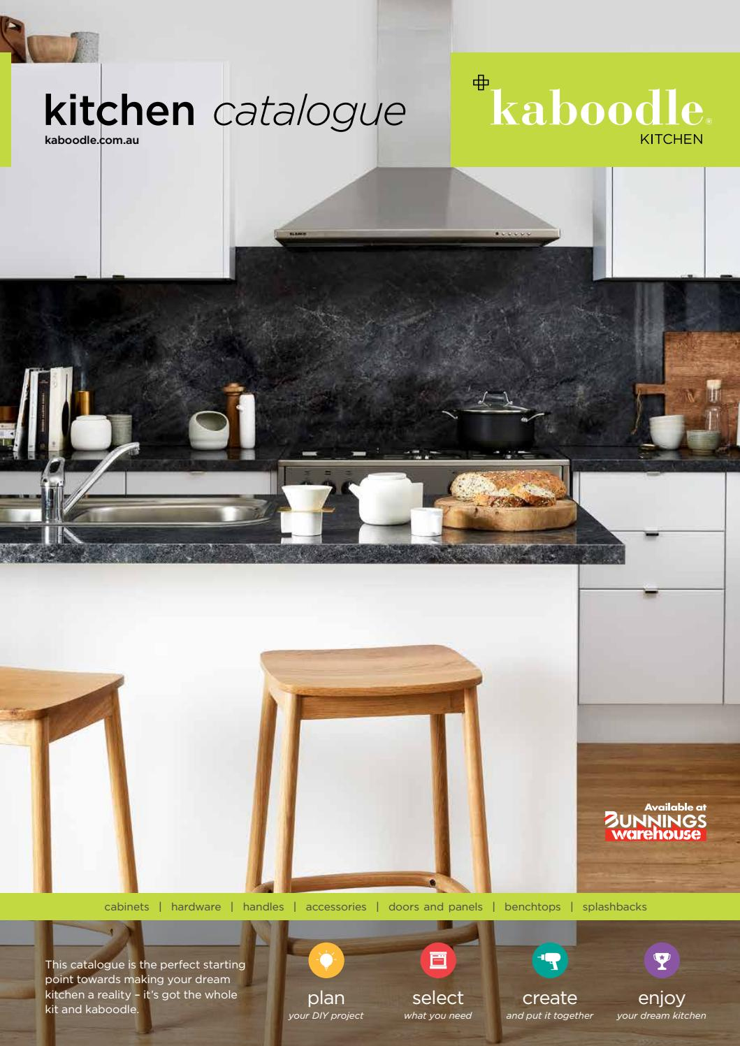 Kitchen Cupboards Bunnings Kaboodle Kitchen Australian Catalogue By Diy Resolutions