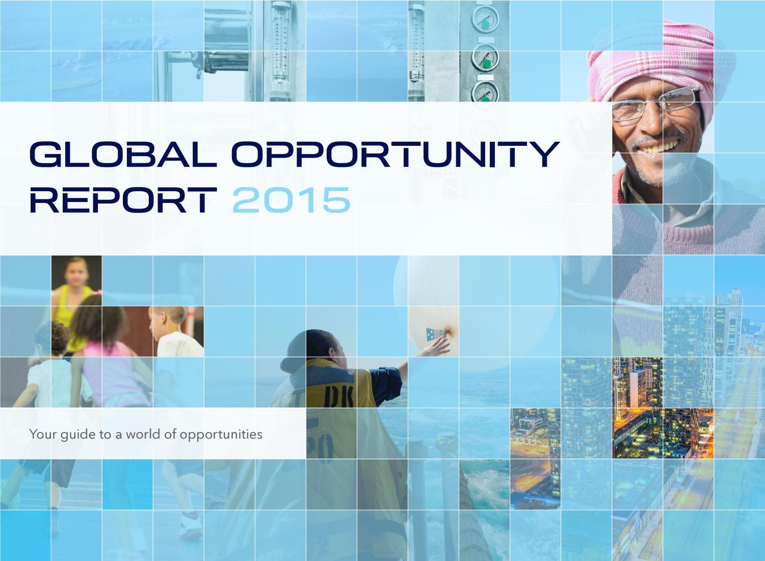Cash Pool Mannheim 2015 Global Opportunity Report