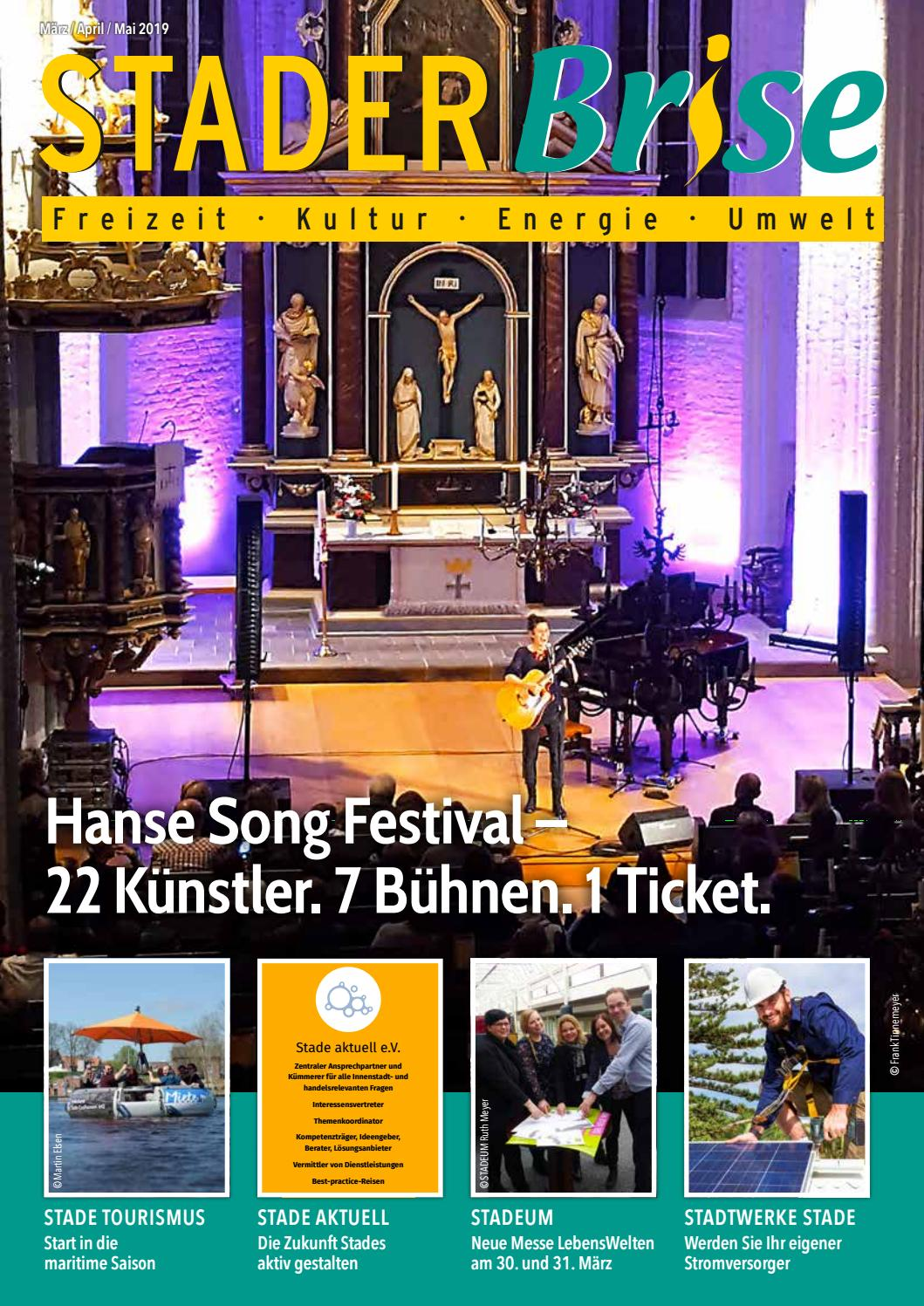 Stader Brise März April Mai 2019 By Stadtwerke Stade Gmbh Issuu