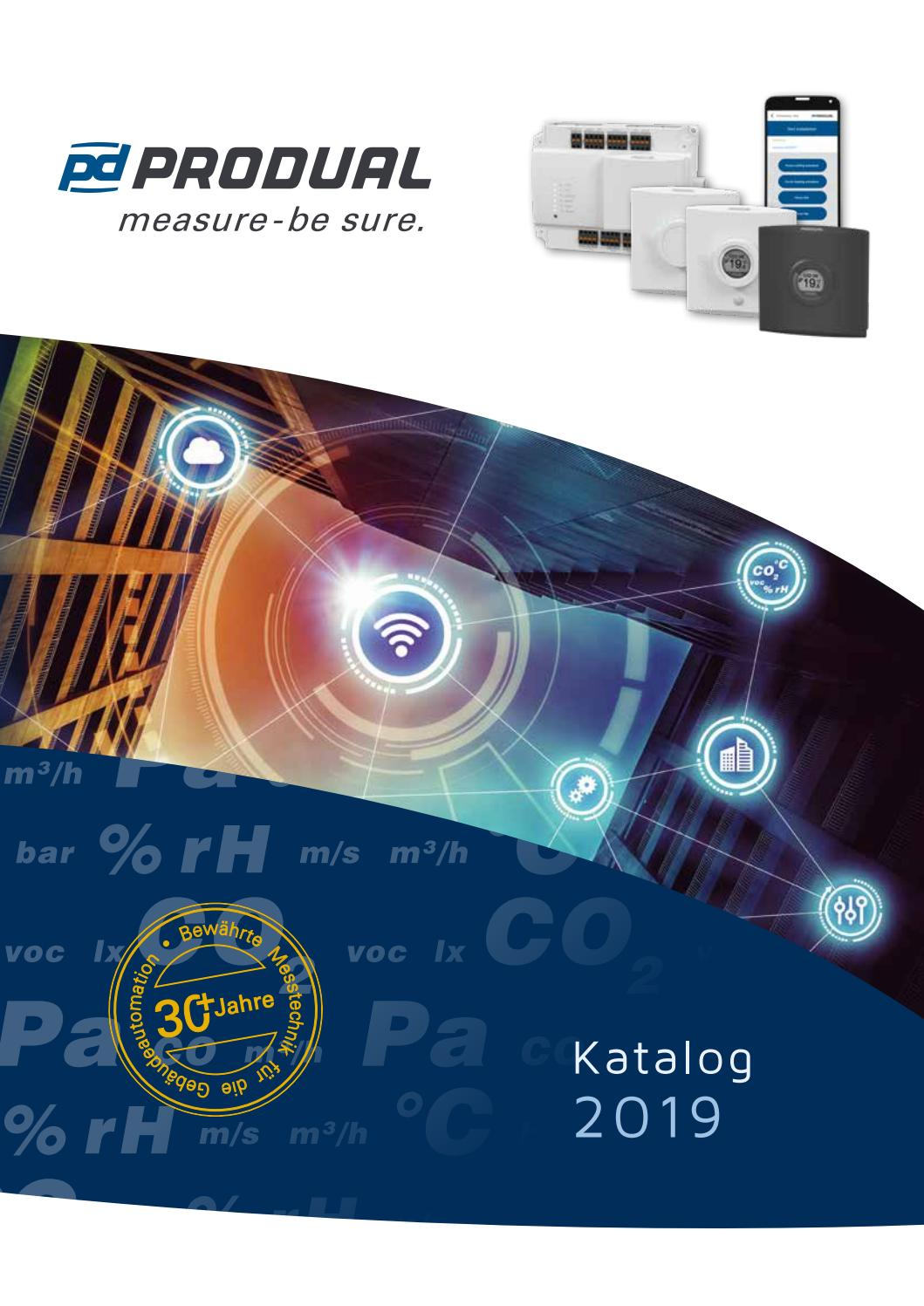 Co Messgerät Heizung Produal Katalog 2019 By Produal Group Issuu
