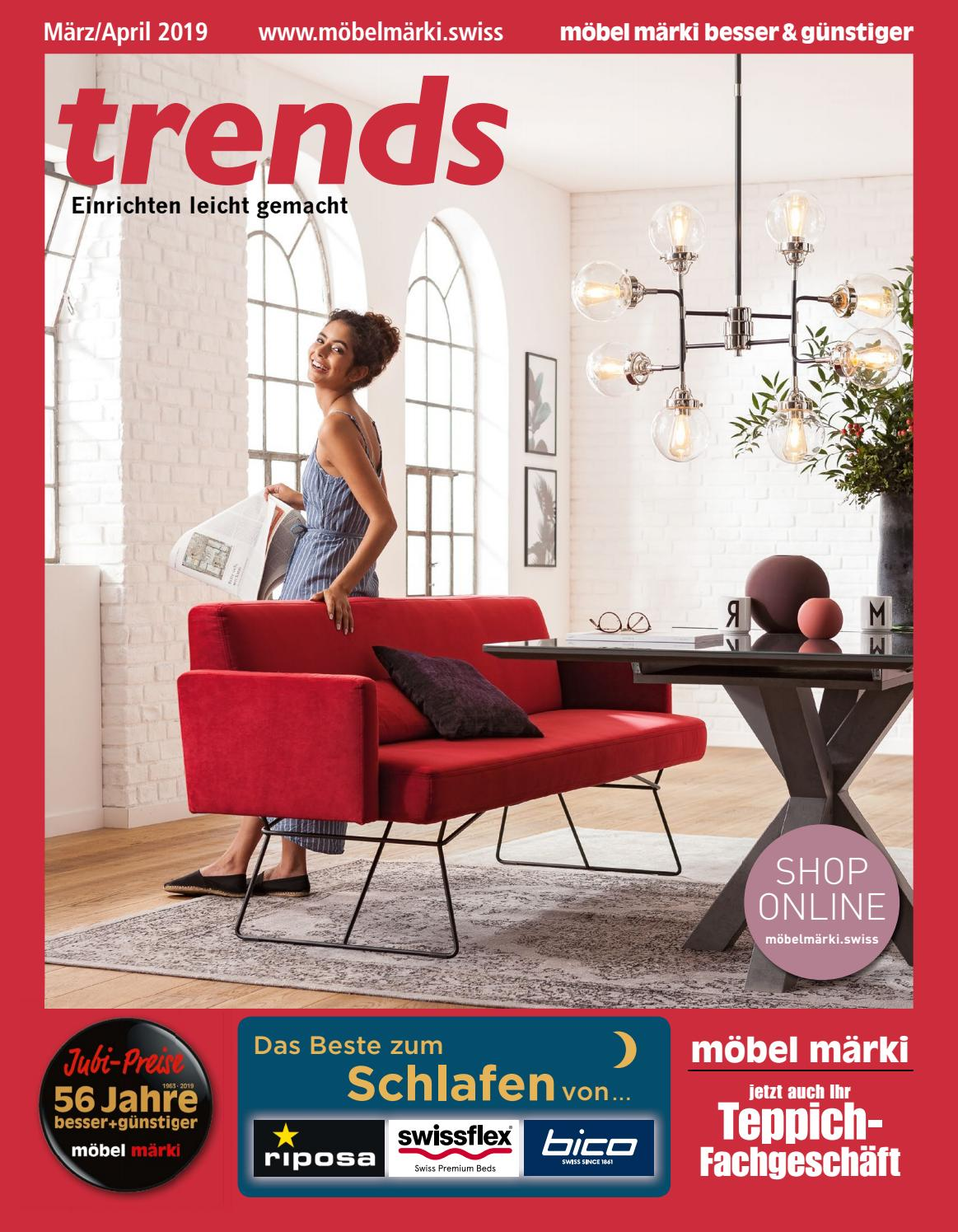 Interio Sofa Erfahrungen Möbel Märki Katalog 2019 Maerz April By Markus Frey Issuu