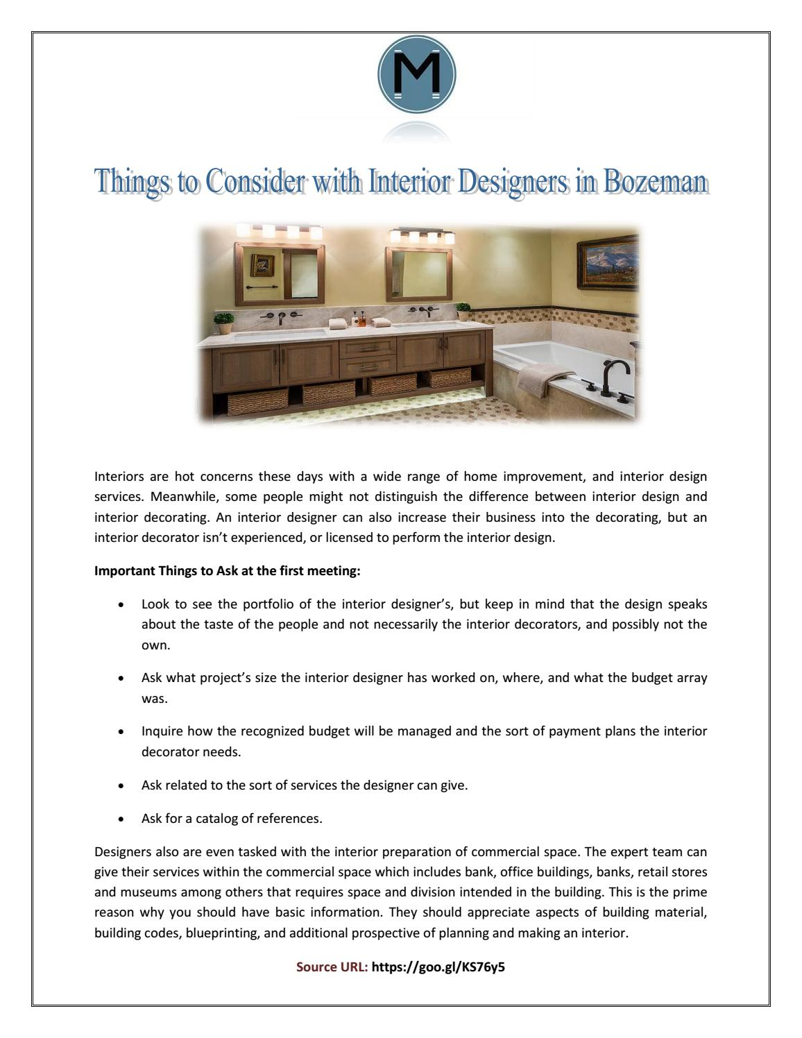 Interior Decoration Business Plan Things To Consider With Interior Designers In Bozeman By