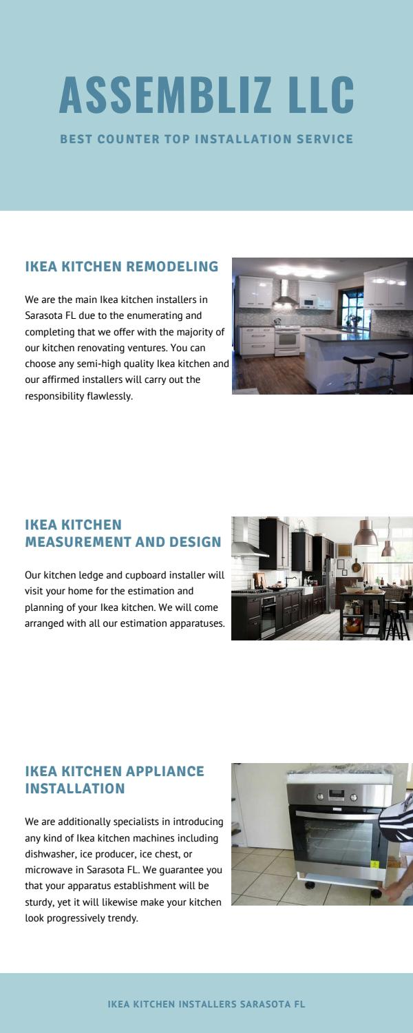 Ikea Kitchen Design Visit Ikea Countertop Installation In Sarasota Fl By Helen Marshall190 Issuu