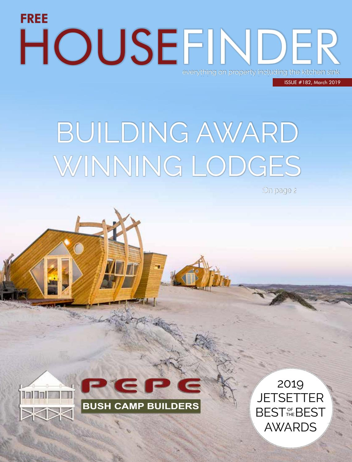 Namibia Immobilien Edition 182 March 2019 Bumper By Housefinder Magazine Issuu