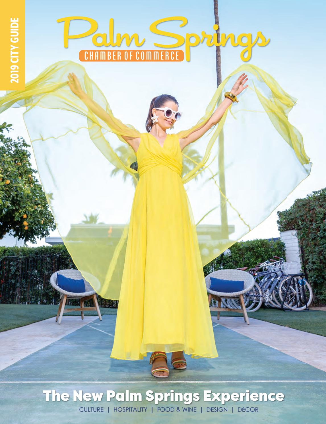 Palm Springs Chamber Of Commerce City Guide 2019 By Ps Chamber City Guide Issuu