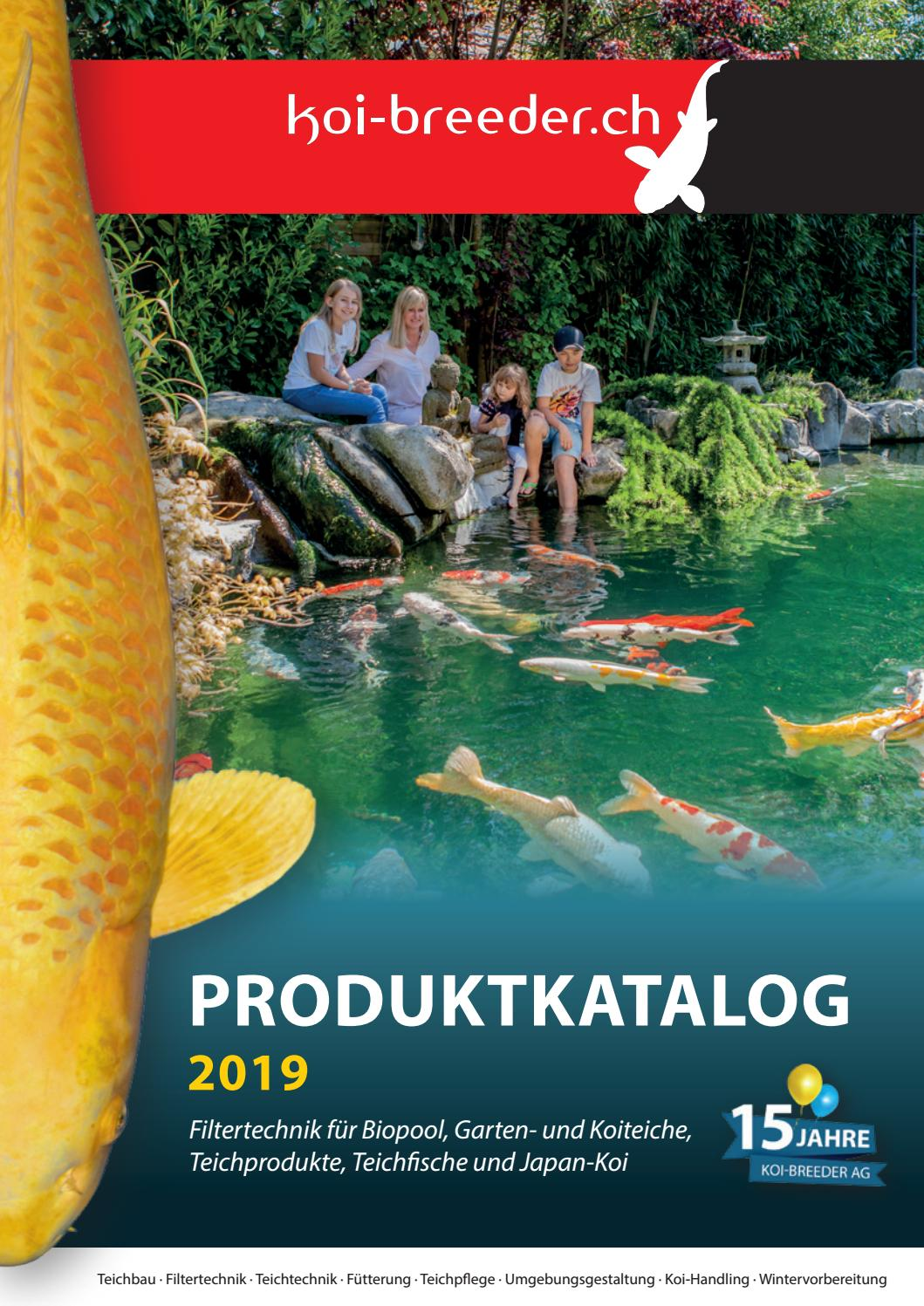 Quick Up Pool Im Garten Aufstellen Koi Breeder Produktkatalog 2019 By Koi Breeder Ag Issuu