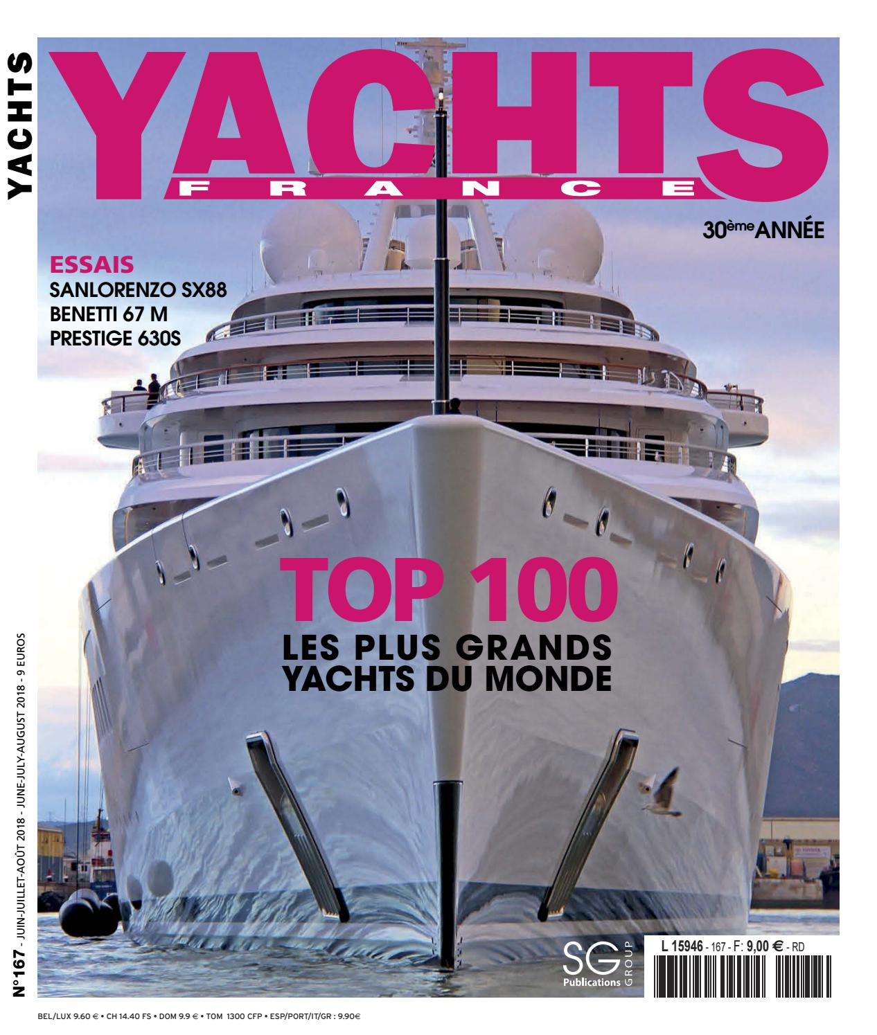 Yachts France N 167 By Sg Publications Issuu