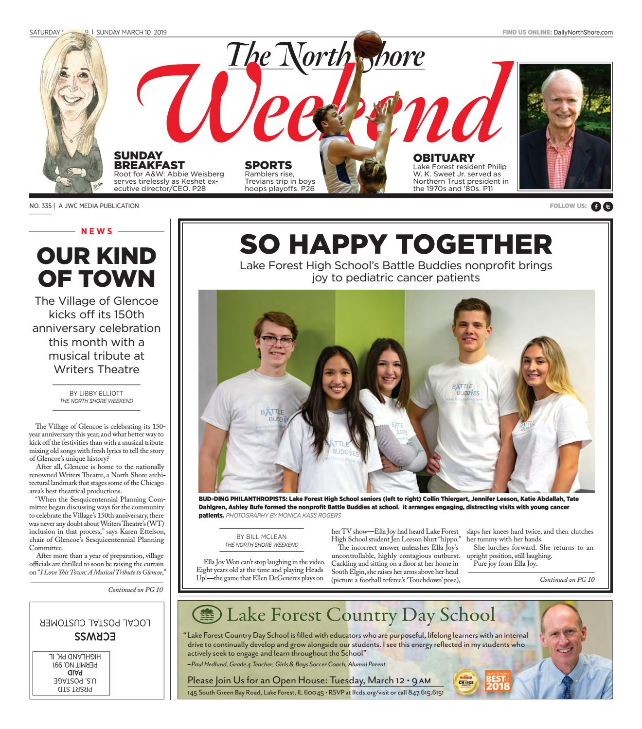 The North Shore Weekend Issue 335 By Jwc Media Issuu