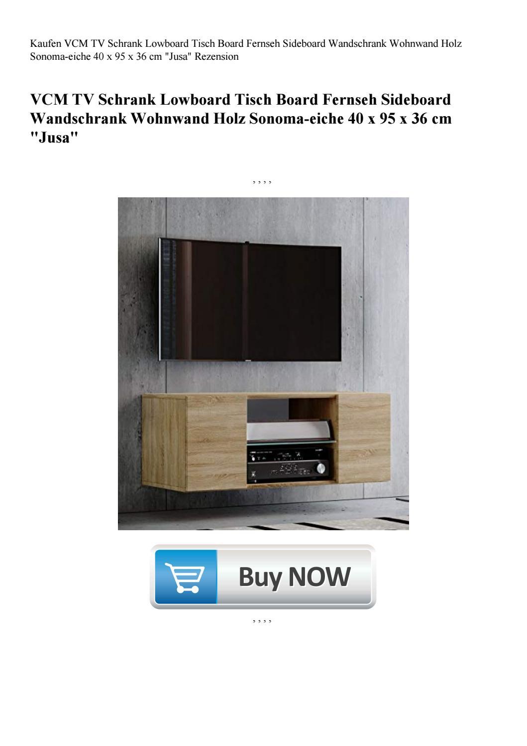 kaufen vcm tv schrank lowboard tisch board fernseh sideboard