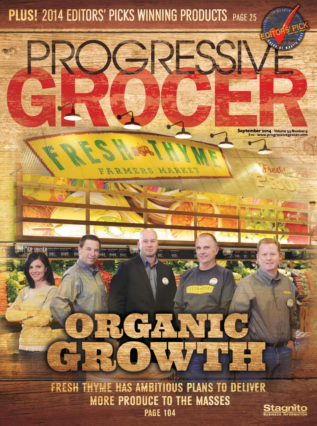 Progressive Grocer September 2014 By Ensembleiq Issuu