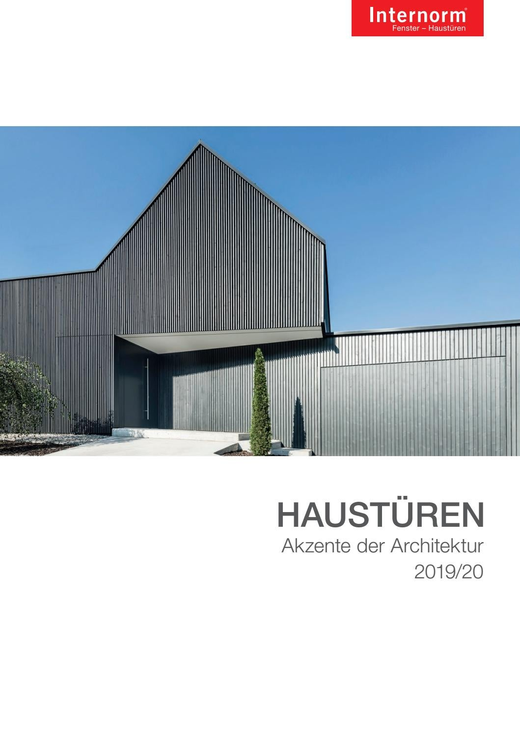 Anthrazitfarbene Haustür TÜrenbuch Ch By Internorm Windows Doors Issuu