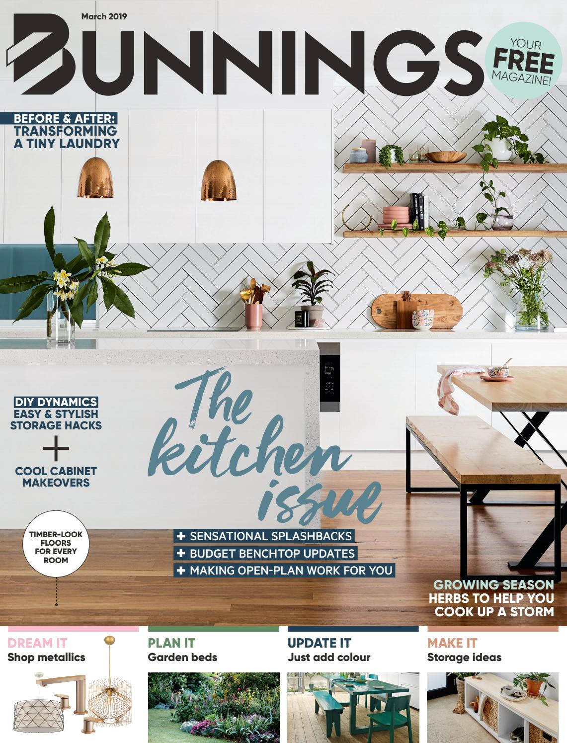 Bunnings Door Lock Installation Kit Bunnings Magazine March 2019 By Bunnings Issuu