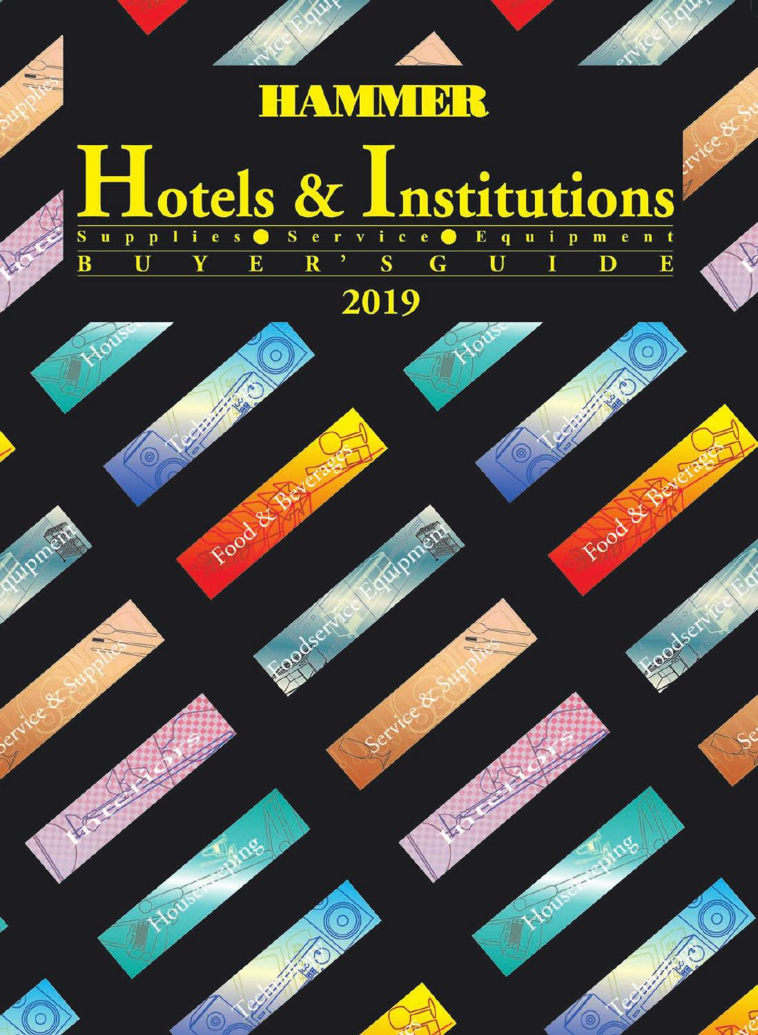 Schindl Sanitärtrennwände Nfg. Gmbh & Co Kg Annual Hotels Institutions Buyers Guide 2019 By Hammer