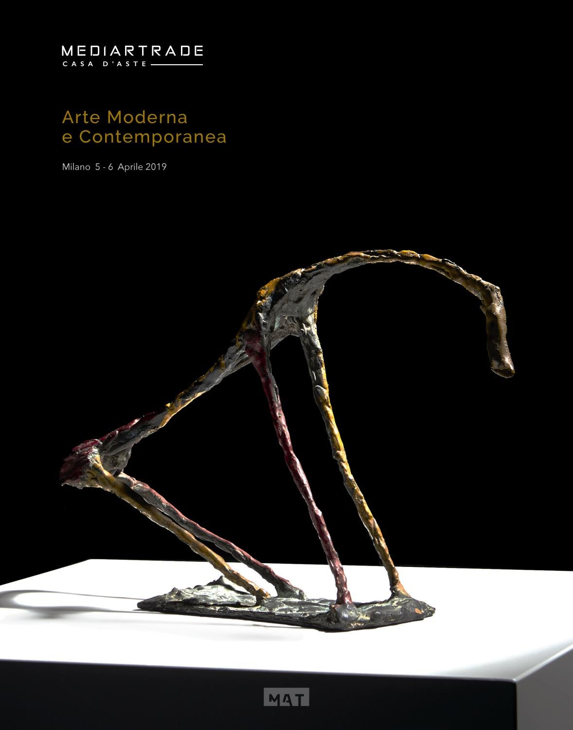 Catalogo Asta Arte Moderna E Contemporanea 03 By Mediartrade Issuu