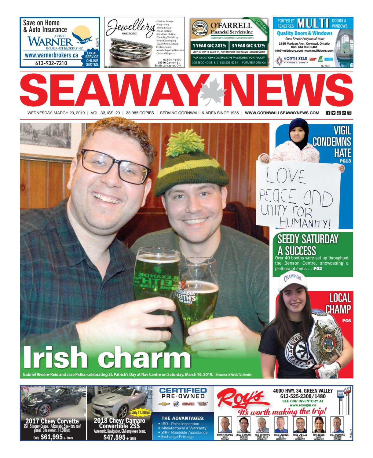 Meubles But Lisieux Cornwall Seaway News March 20 2019 Edition