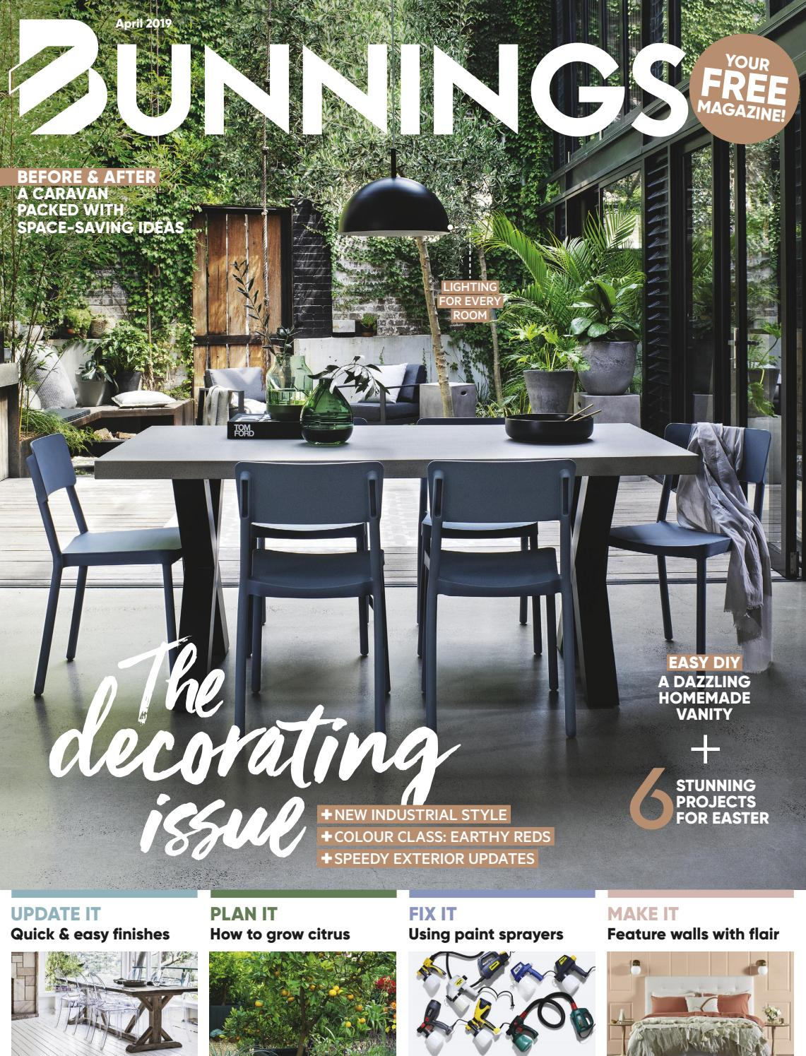 Bunnings Drop Cloth Bunnings Magazine April 2019