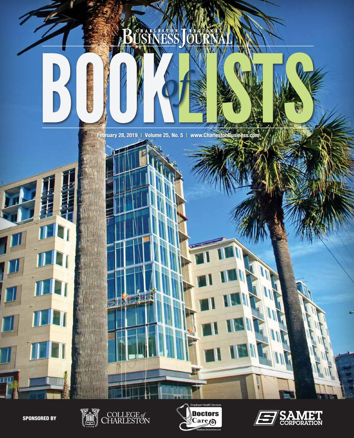 Randstad Salon De Provence 2019 Charleston Book Of Lists By Sc Biz News Issuu