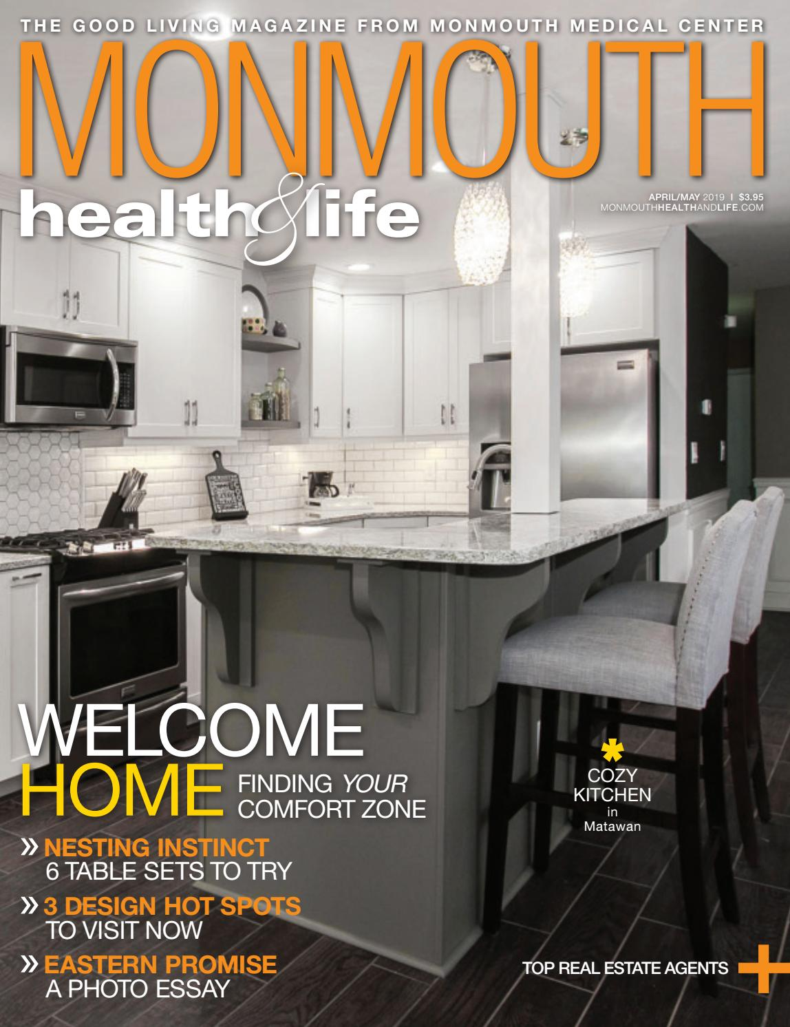 Monmouth Health Life April May 2019 By Wainscot Media Issuu