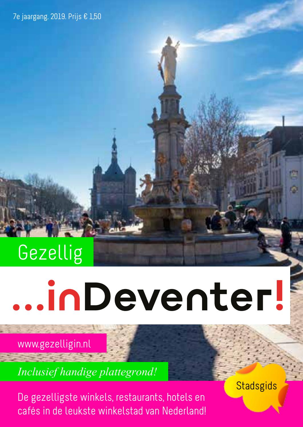 Deventer Winkelen Gezellig In Deventer 2019