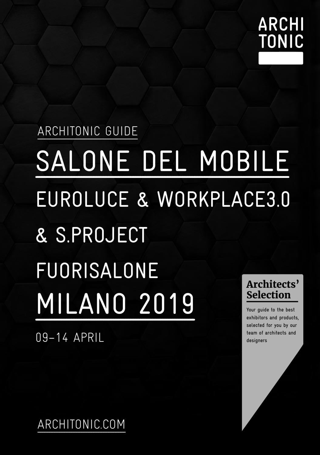 Quinti Sedute New York Architonic Guide Salone Del Mobile Milano 2019 By Gärtner