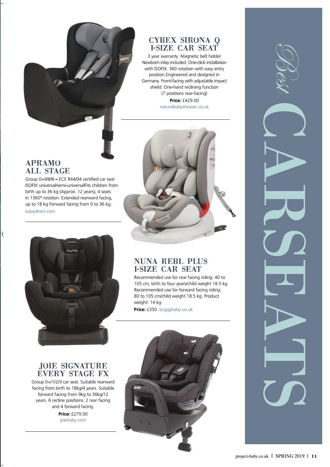 Joie Baby Car Seat Usa Project Baby Spring Edition By Project Baby Rascals Of