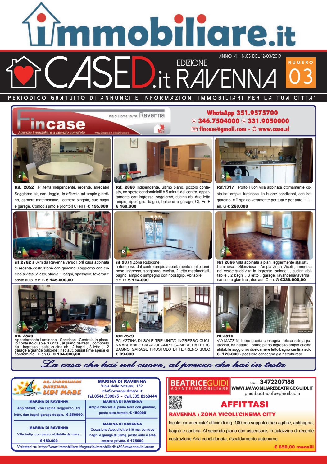 Bagno Quinto 176 Cervia Cased Ravenna N 03 Del 12 03 2019 By Press One Srl Issuu