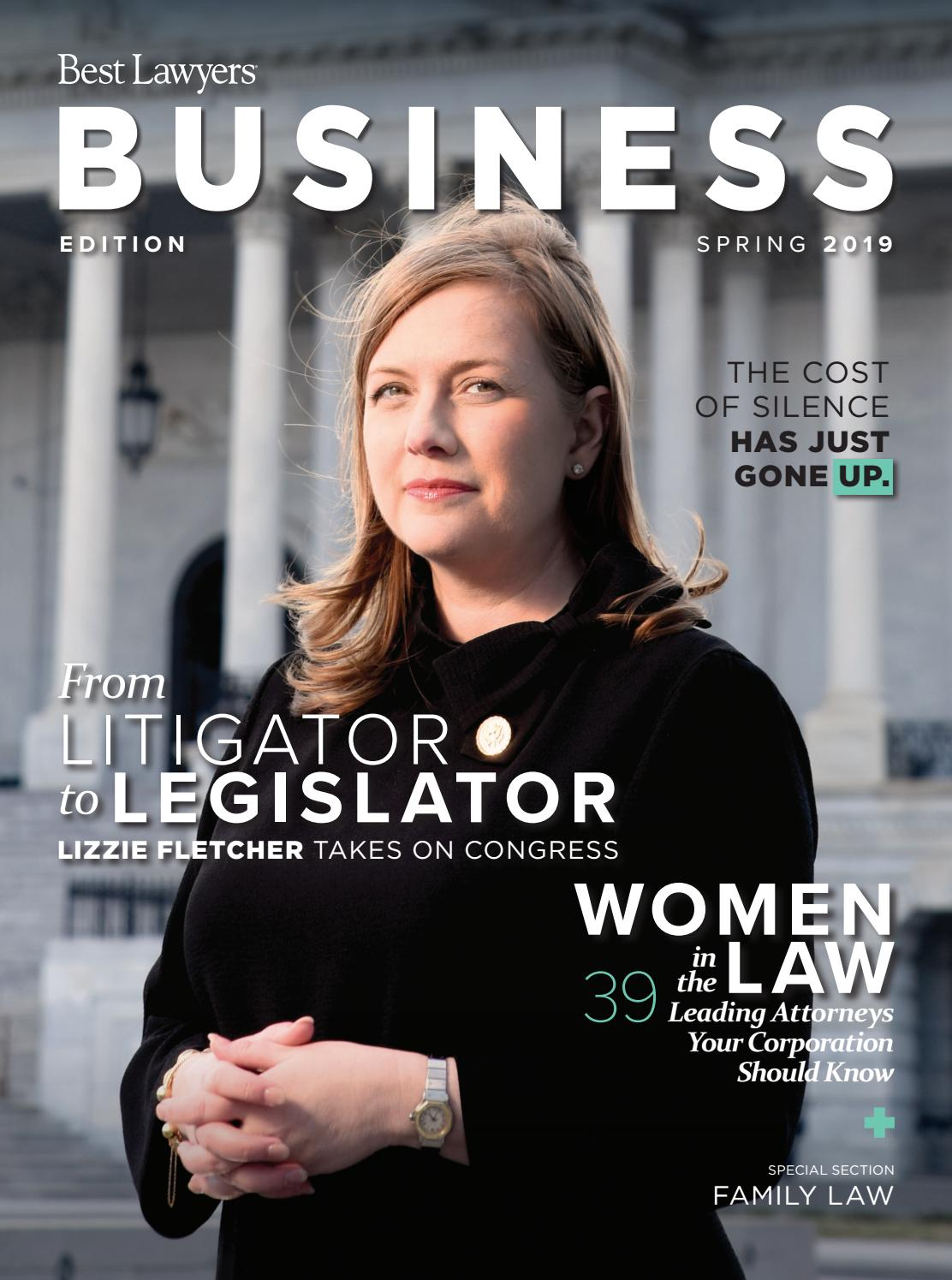 Best Lawyers Spring Business Edition 2019 By Best Lawyers Issuu