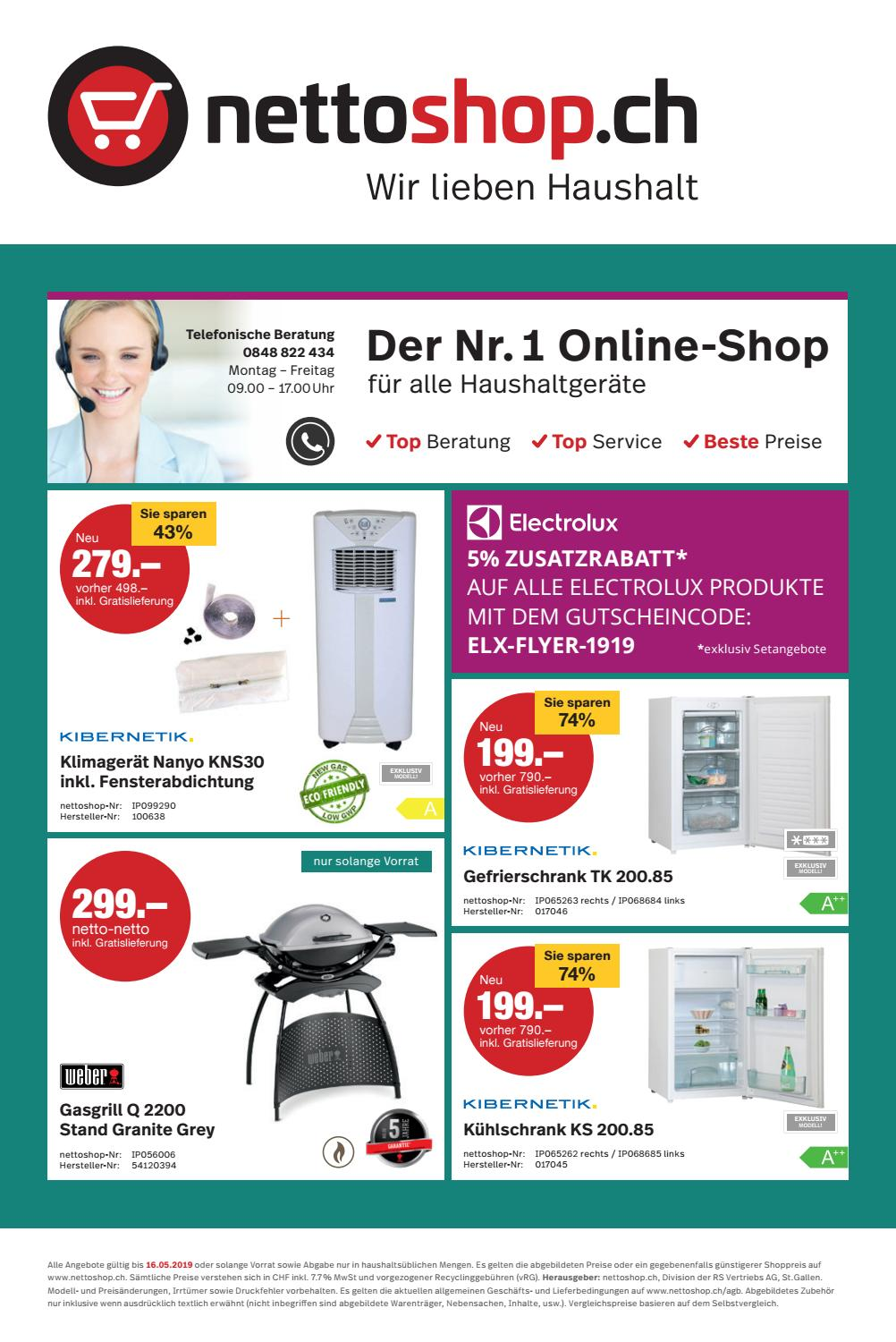 Klimagerät Nettoshop Nettoshop Ch Flyer 19 19 Deutsch Mai 2019 By Nettoshop Ch