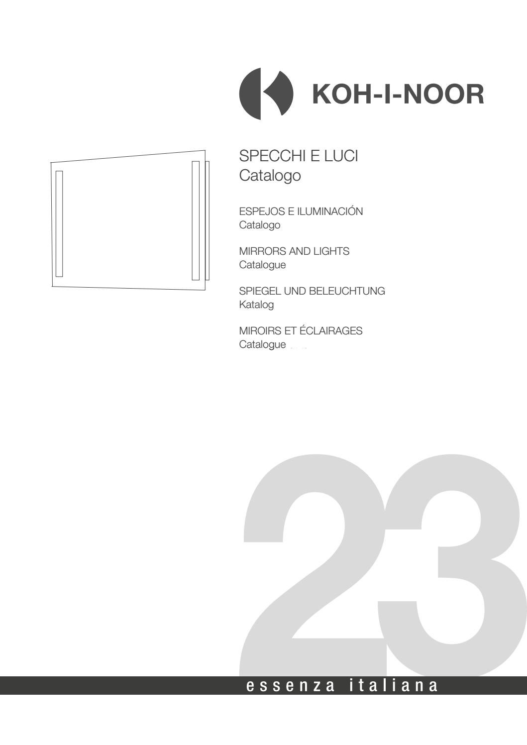 Catalogo Specchi E Luci 23 By Koh I Noor Issuu