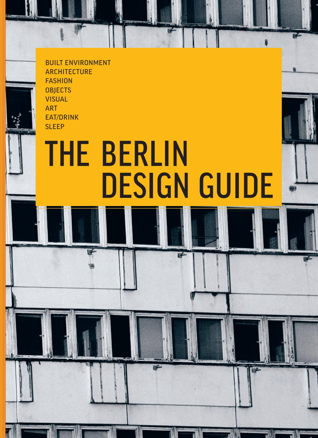 Vintage Möbel Neukölln The Berlin Design Guide By The Design Guides Issuu