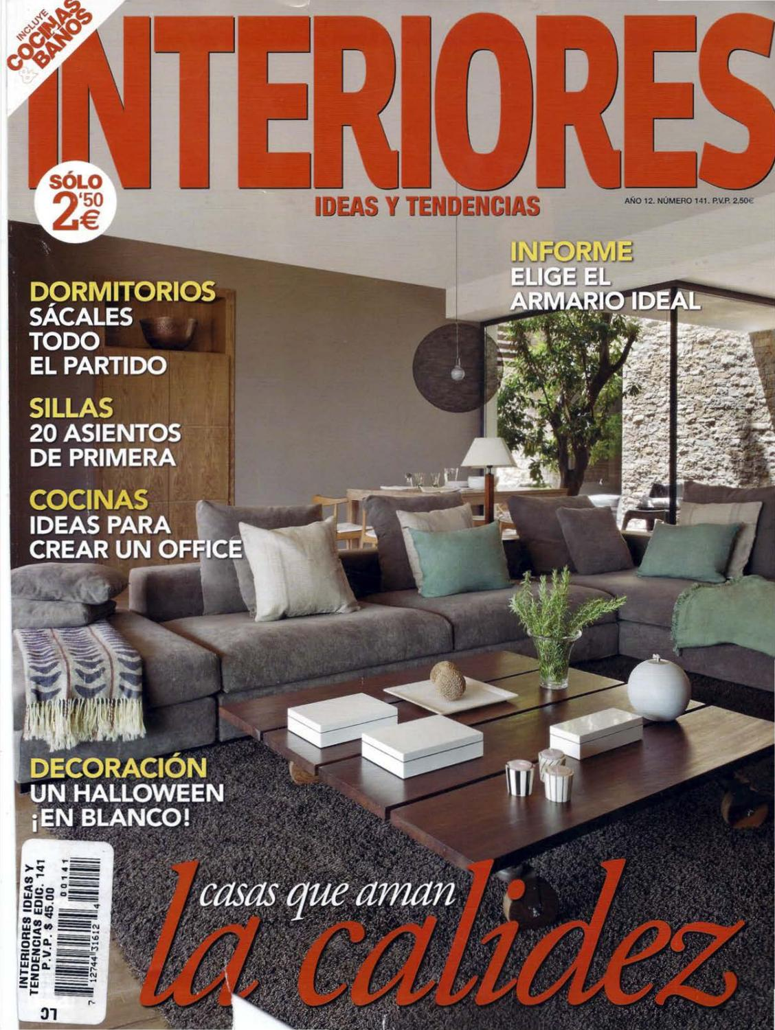 Muebles Doble Eme Revista Interiores No 141 By Noel Urban Issuu