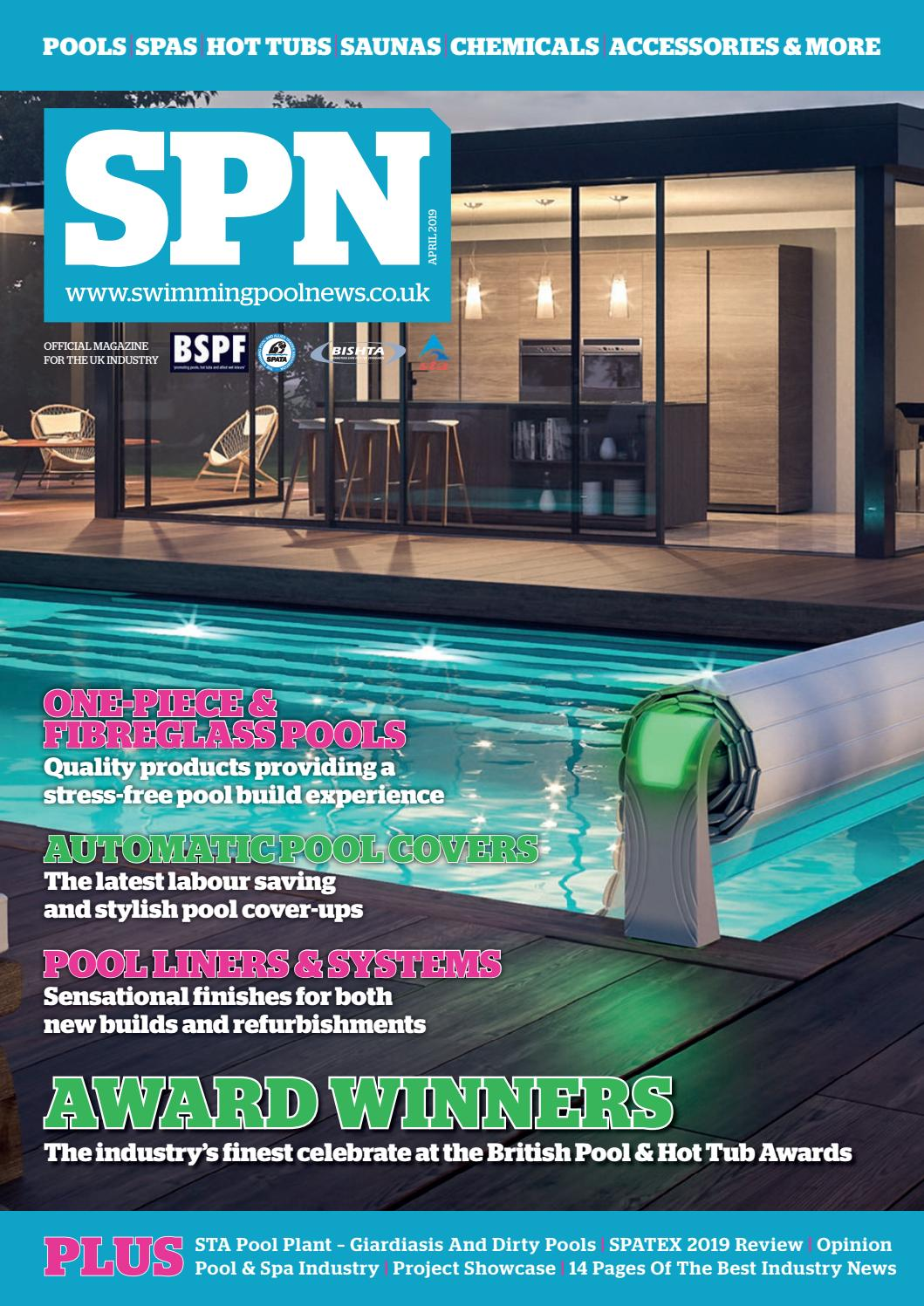 Jacuzzi Pool Top Caps Spn Swimming Pool News April 2019 By Aqua Publishing Ltd Issuu