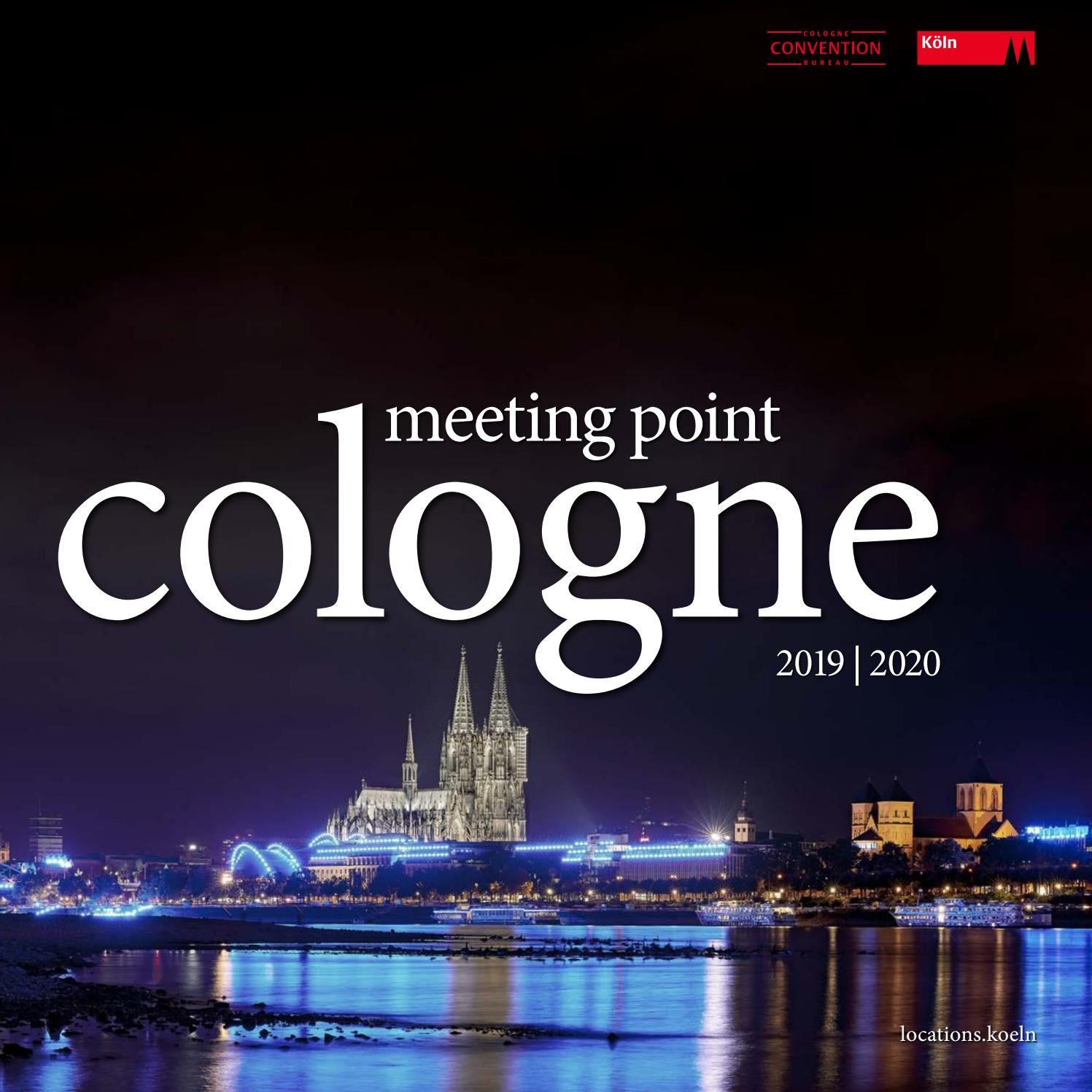 Meeting Point Cologne 2019 2020 By Kölntourismusgmbh Issuu
