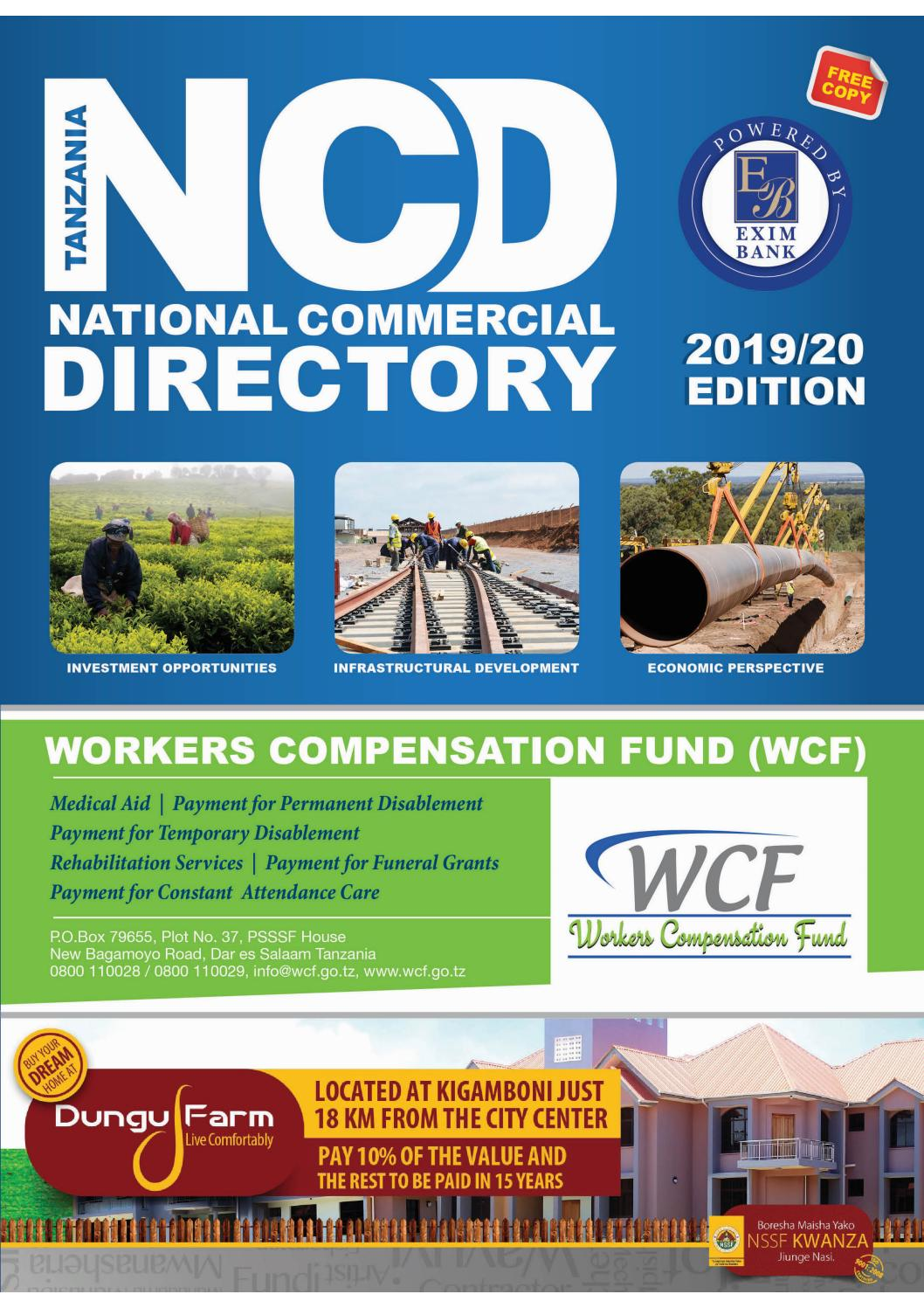 Wholesale Suppliers In Tanzania Tanzania National Commercial Directory Issue 002 2019
