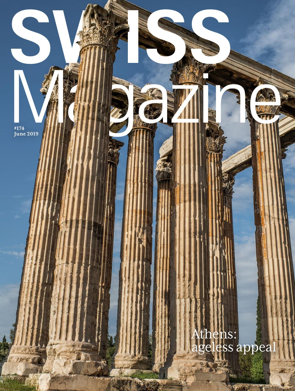 Cash Pool Geldautomaten Bremen Swiss Magazine June 2019 Athens By Swiss International Air Lines