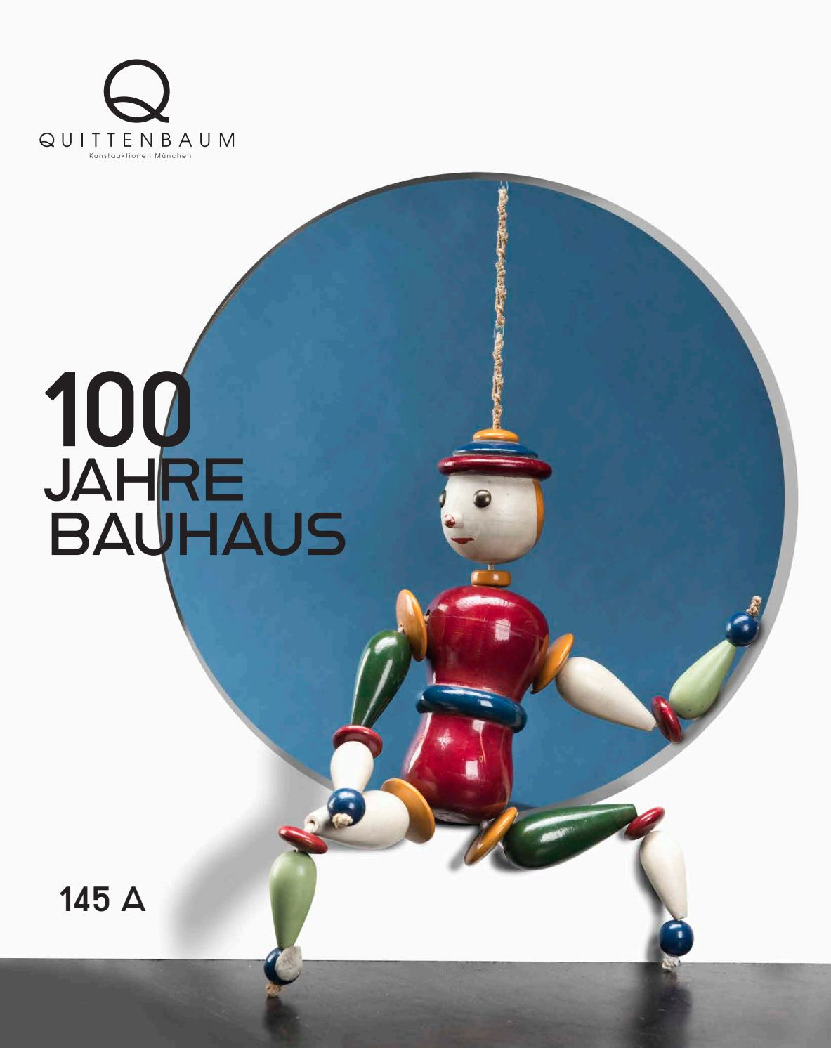 Bauhaus Buchenholz Auction 145a 100 Years Of Bauhaus Quittenbaum Art