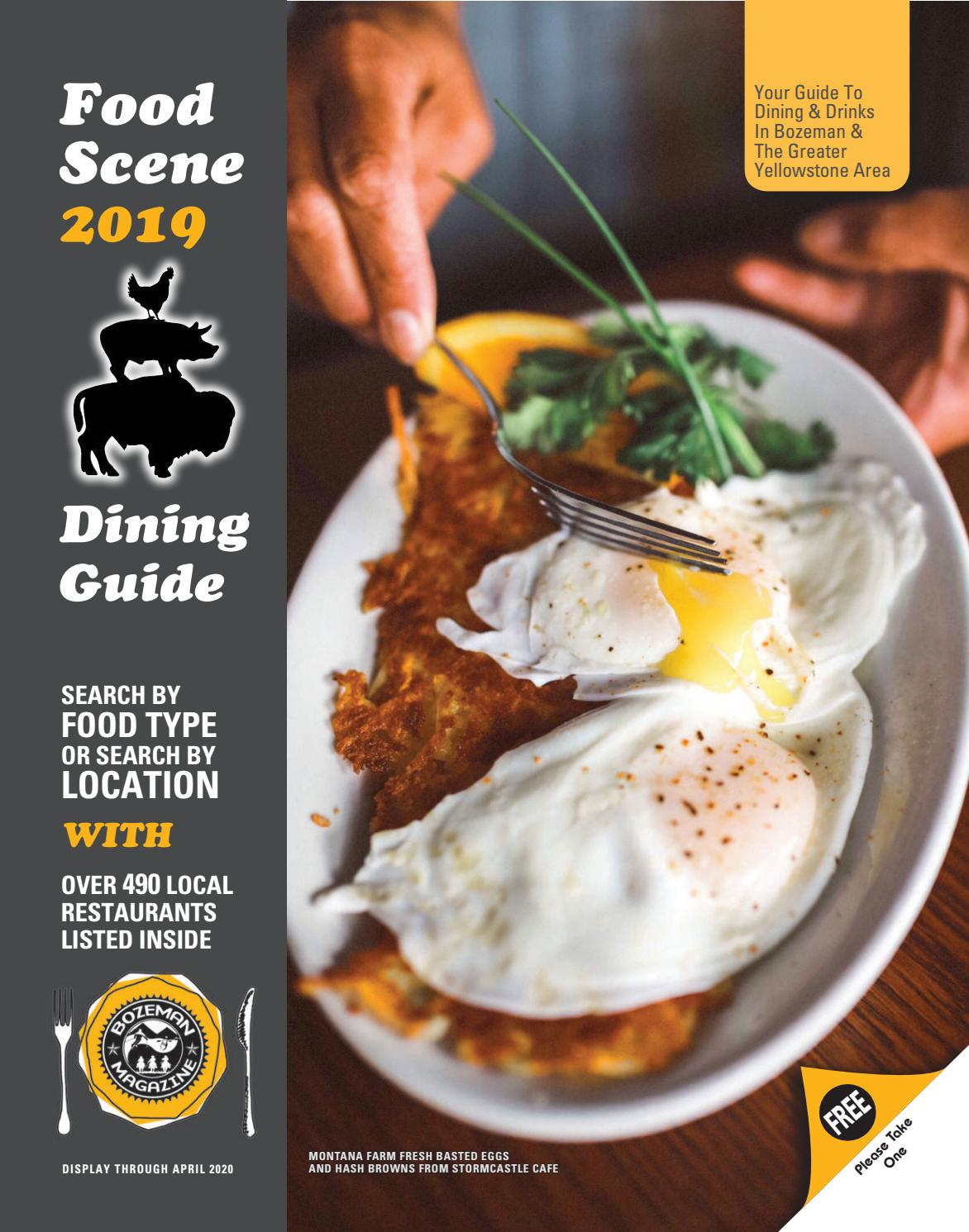 Food Scene 2019 By Bozeman Magazine Issuu