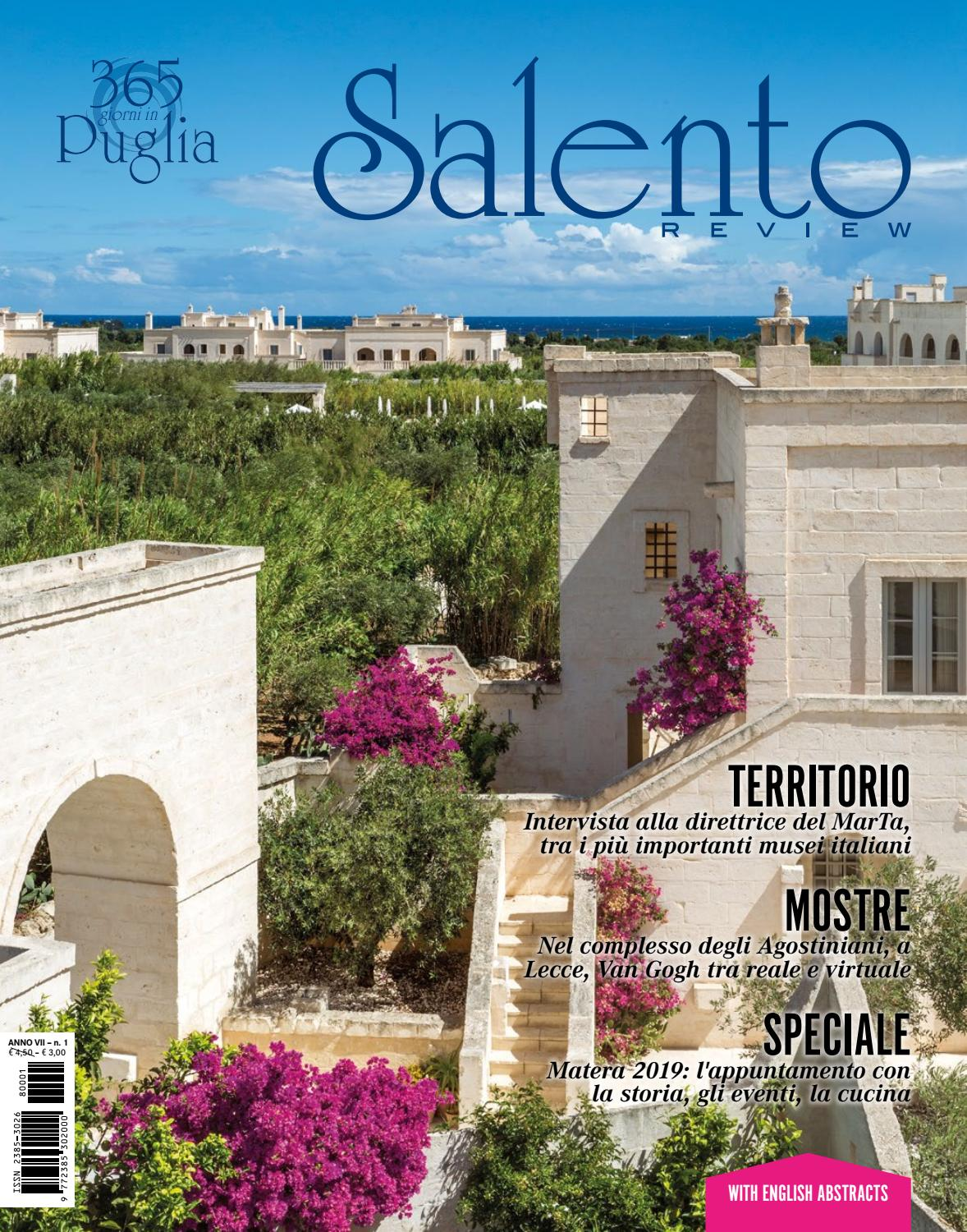 Cucina Fresca Meaning Salento Review Anno Vii Numero Uno By Salento Review Issuu