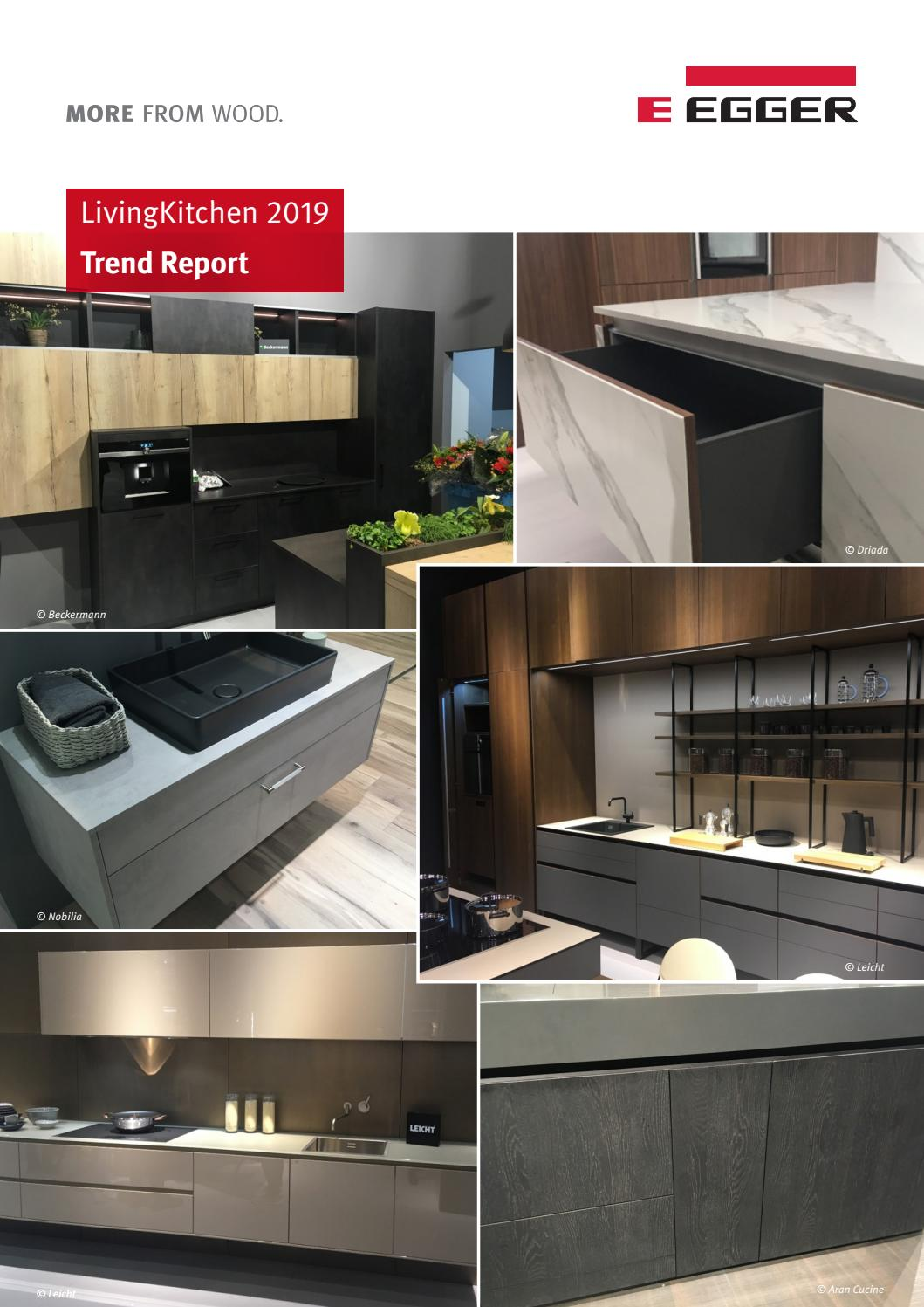Nobilia Küche Cosmo Trend Report Livingkitchen 2019 By Fritz Egger Gmbh Co Og