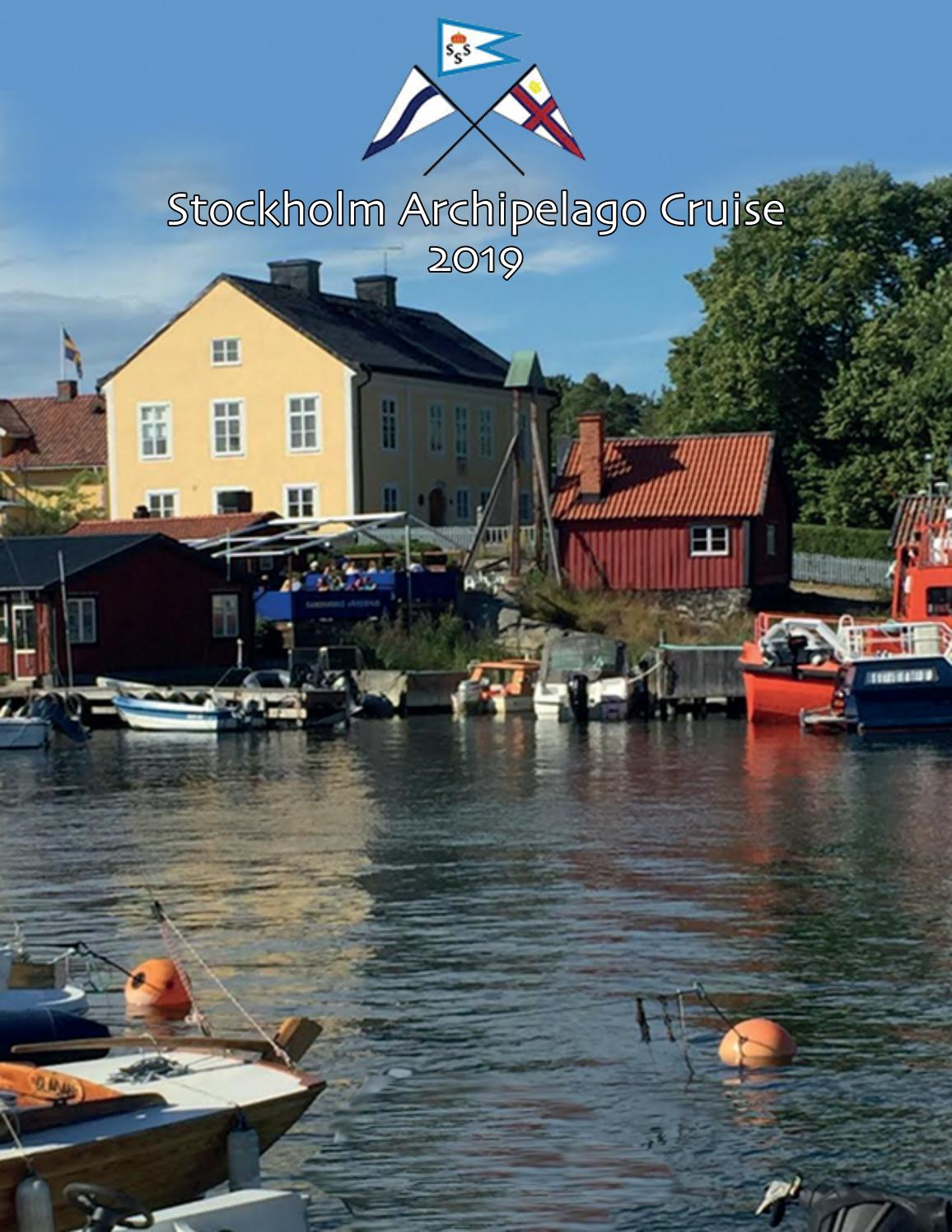 Home Affaire Stockholm Stockholm Archipelago Cruise 2019 By Tunickart Issuu