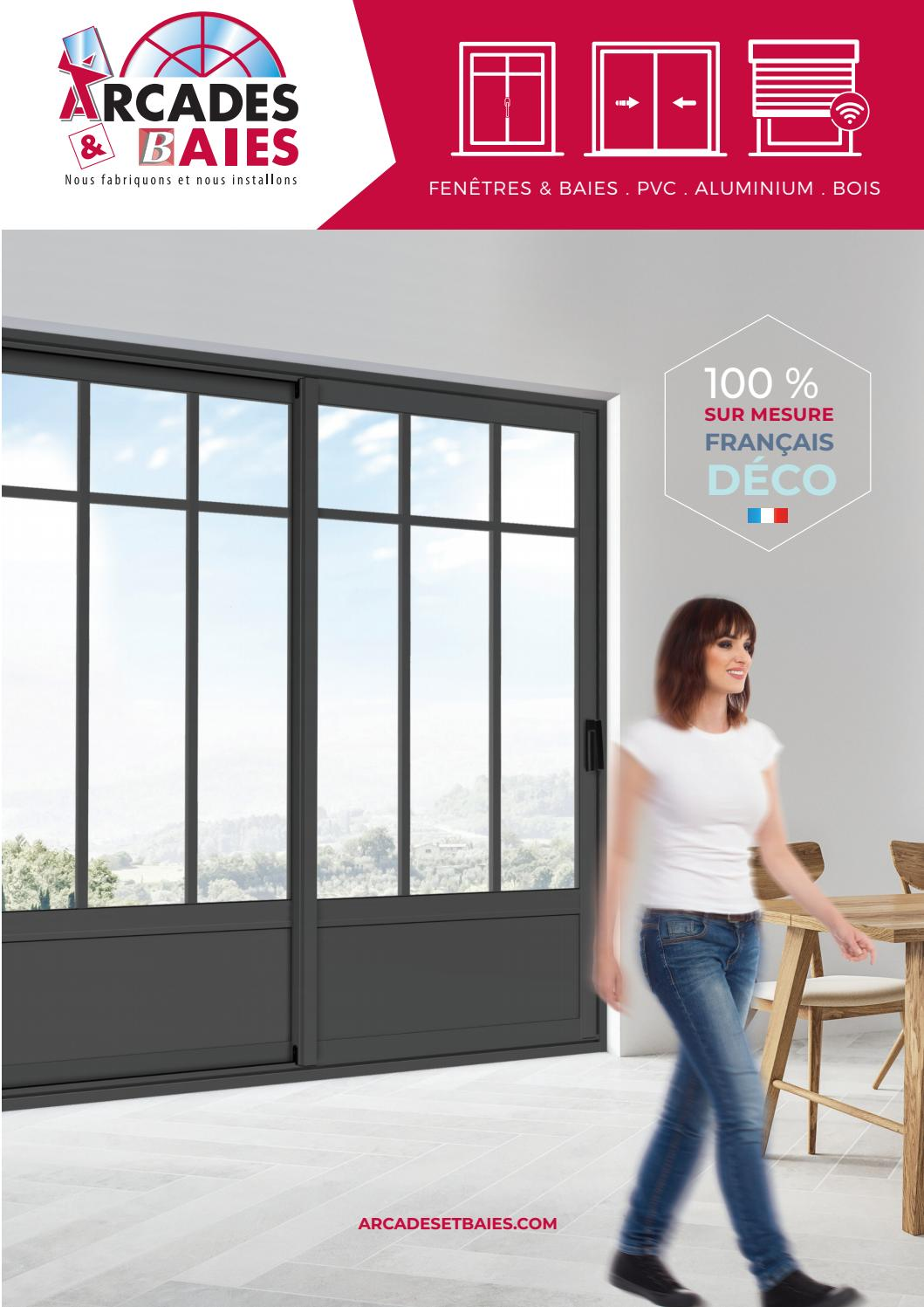 Fenetre Coulissante 140 X 80 Catalogue Menuiseries Arcades Baies By Forlis Issuu