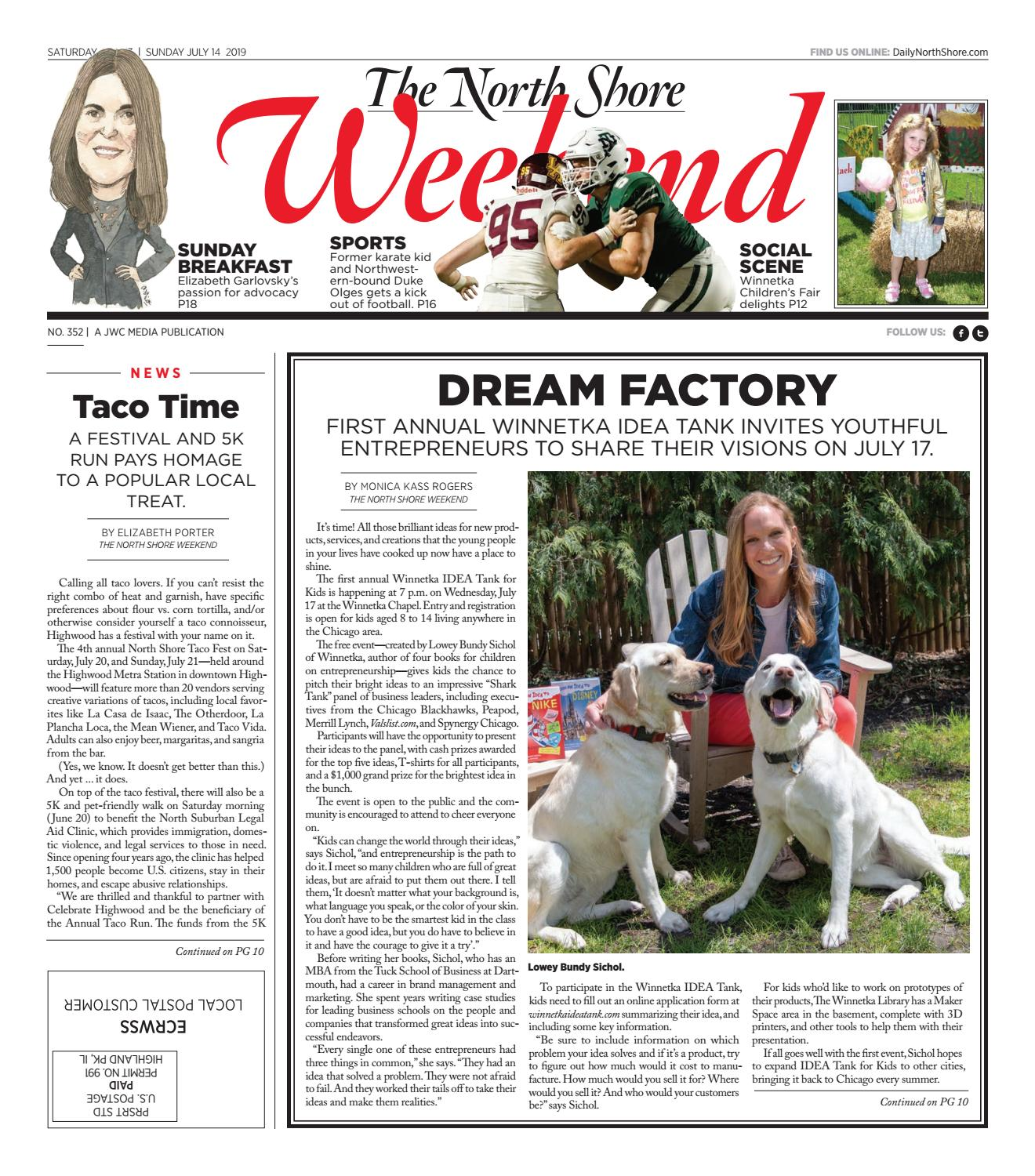The North Shore Weekend Issue July 13 2019 By Jwc Media Issuu