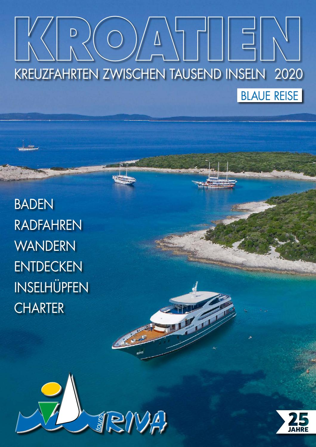 Blaue Reise 2020 By I D Riva Tours Issuu
