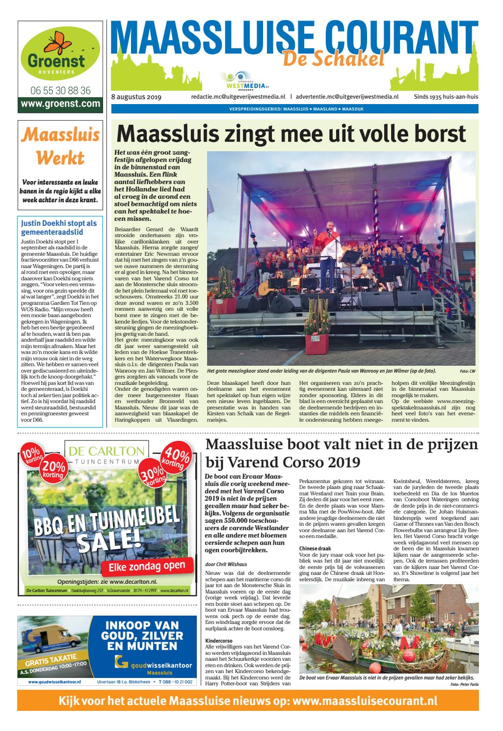 Stoelen Huren Maassluis Mc 2019 08 08 Pdf By Wl Media Issuu