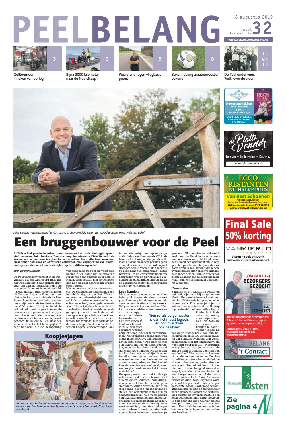 Banken Outlet Asten Peelbelang 08 08 2019 By Das Publishers Issuu