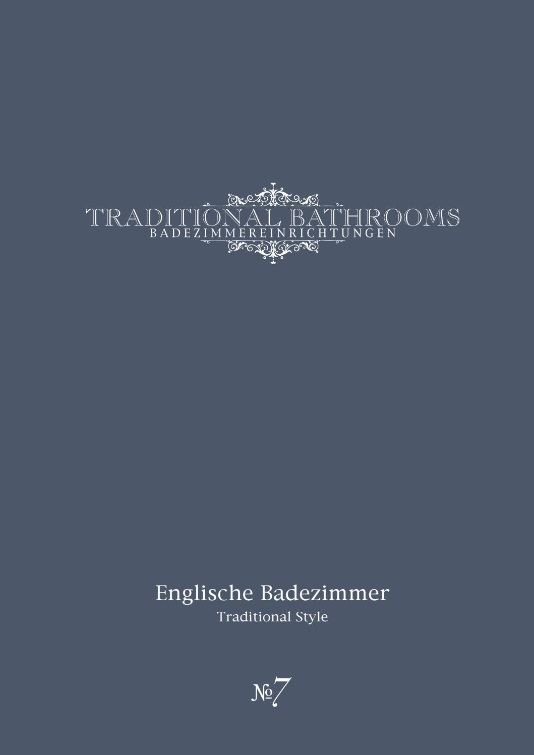 Englische Badezimmer Edition 7 By Traditional Bathrooms Issuu