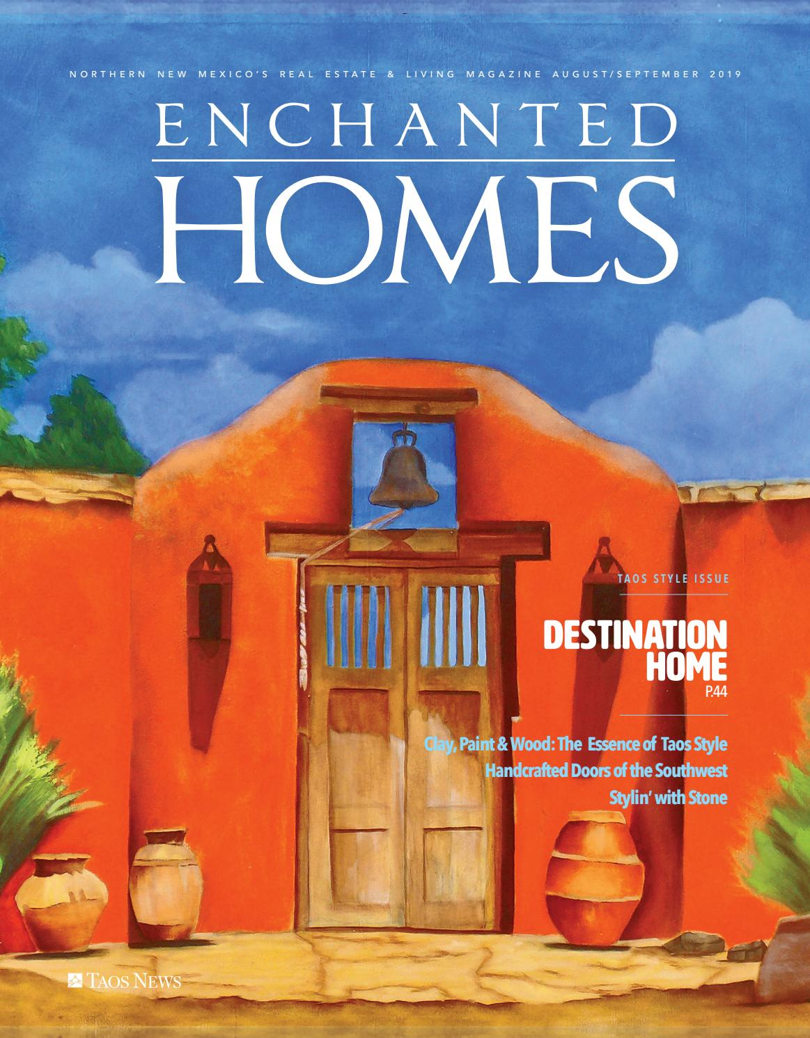 Enchanted Homes Destination Home By The Taos News Issuu
