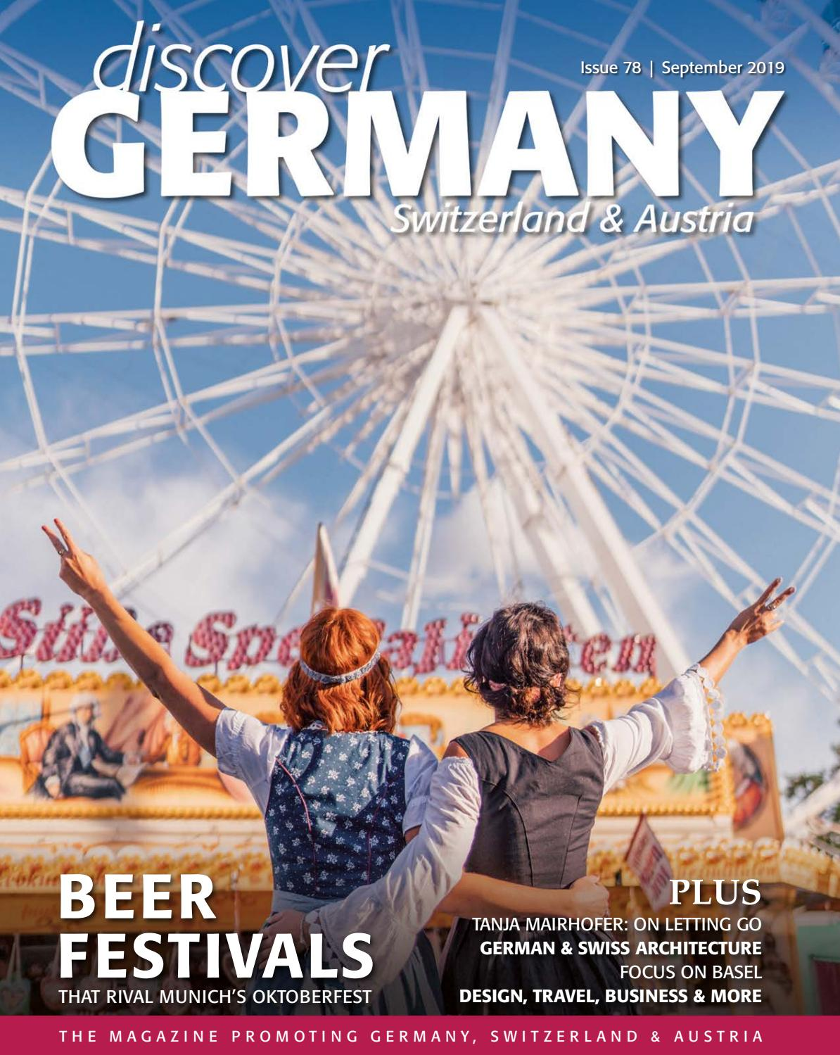 Discover Germany Issue 78 September 2019 By Scan Client Publishing Issuu