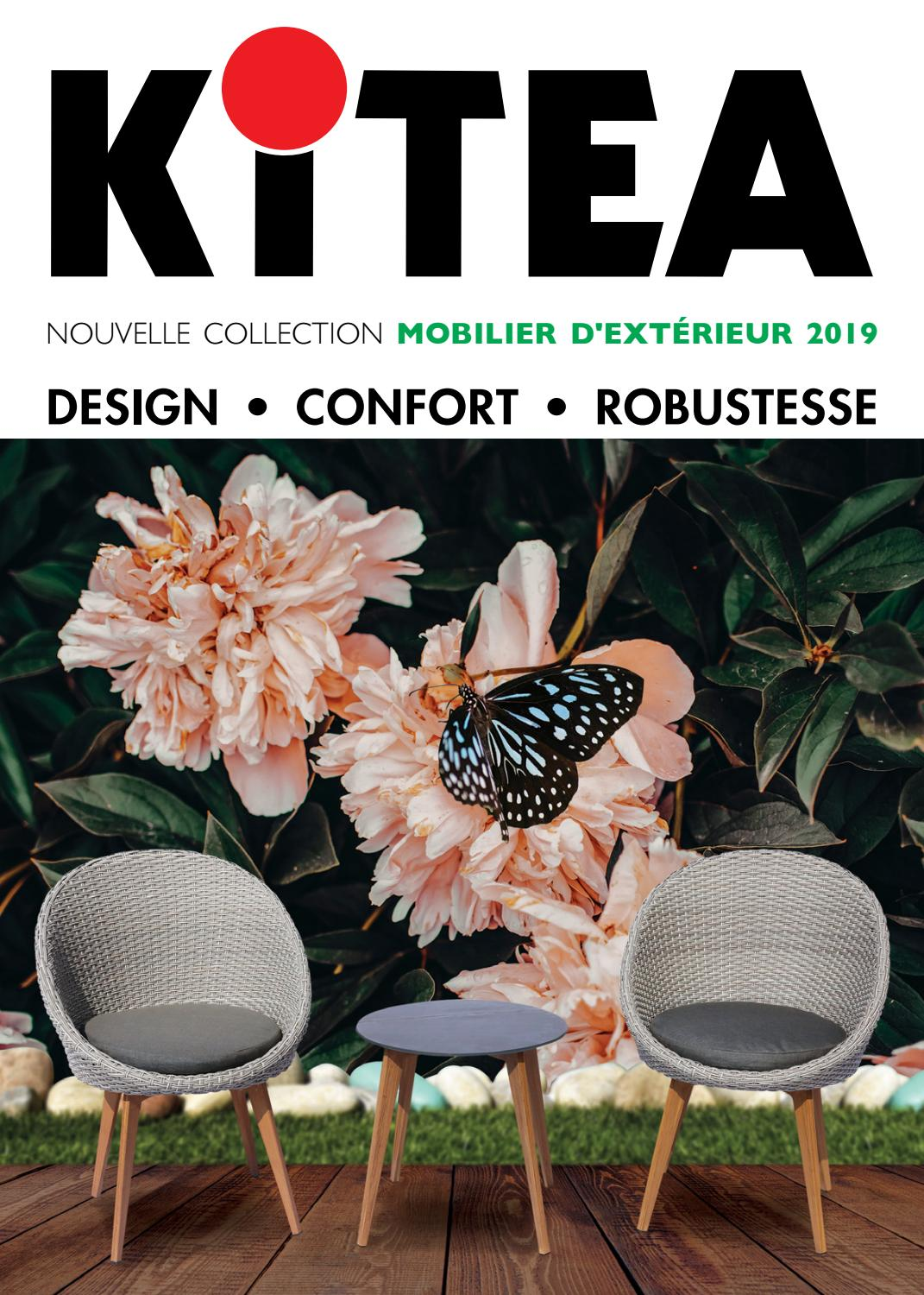 Catalogue Kitea Mobilier D Extérieur 2019 By Rishop Ma Issuu
